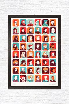 """Game of Thrones"", a limited edition illustration designed by Sara Penco for GustoRobusto.com"