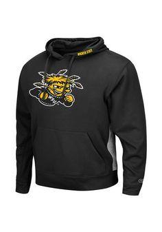 Wichita State Shockers Mens Hooded Logo Sweatshirt http://www.rallyhouse.com/shop/wichita-state-shockers-mens-hooded-sweatshirt-black-wsu-chrome-long-sleeve-hoodie-15031564?utm_source=pinterest&utm_medium=social&utm_campaign=Pinterest-WSUShockers $55.00