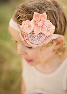 Headband perfect especially for the 5 pt flowers