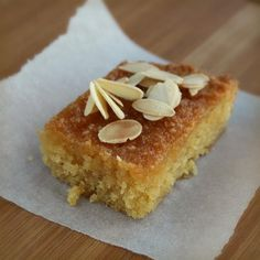 "Lemon Polenta Cake | ""A nice, light cake that just happens to be gluten free, can't beat that!"""