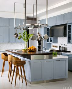 Examples of the Best Elle Decor Kitchen Cabinets Interior Design Minimalist, Decor Interior Design, Interior Paint, Home Design, Minimalist Kitchen, Minimalist Decor, Minimalist Living, Minimalist Bedroom, Minimalist Style