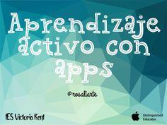 Aprendizaje activo con apps .Nos ayudará a utilizar y conocer apps en nuestra clase.