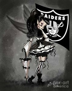 Raiders Baby i want this as a tattoo