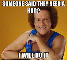 I get motivated to work out just by seeing Richard Simmons smile.  You can do this!
