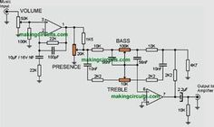 3 band audio equalizer circuit schematic in 2019