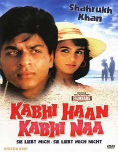 Watch Kabhi Haan Kabhi Naa FULL MOVIE Sub English Srk Movies, Good Movies, Movies Box, Movies Free, Tamil Movies, Shahrukh Khan, Bollywood Posters, Bollywood Songs, Sr K