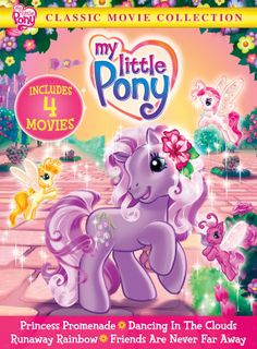 A Lucky Ladybug: My Little Pony: Classic Movie Collection DVD Review and #Giveaway
