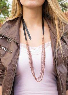 Copper Collision Necklace