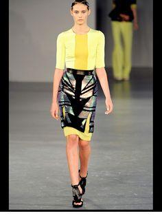 David Koma Londra - Spring Summer 2012 Ready-To-Wear - Shows - Vogue. Conceptual Fashion, David Koma, Fashion Show Collection, Skirt Fashion, Evening Dresses, Women's Dresses, Dress Skirt, Ready To Wear, Fashion Design