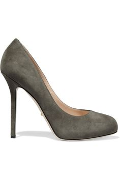Barbie suede pumps | Sergio Rossi | 45% off | AT | THE OUTNET