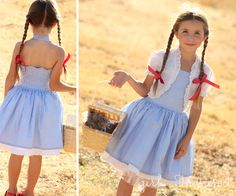 If you need a last minute costume for your little girl, this quick dress tutorial might come in handy. I shared the tutorial for making Olivia her Dorothy costume at the Train to Crazy a few weeks ago. Hope you like it!I absolutely love making my three girls their Halloween costumes, but this year, I've...Read More »