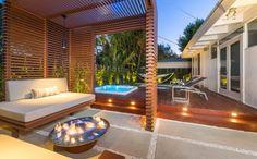 Diseño de terraza moderna