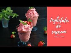 Înghețată de căpșuni! Doar 2 ingrediente! - YouTube Cooking Ice Cream, Sorbet, Pudding, Desserts, Youtube, Recipes, 2 Ingredients, Banana, Diy