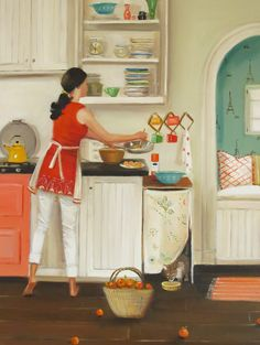 """""""Crepes For Suzette"""" by Janet Hill"""