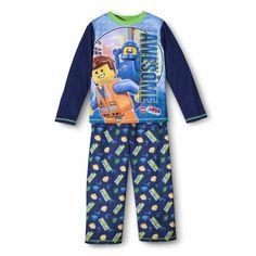 Lego Movie Boys' 2-Piece Long-Sleeve Pajama Set Patrick - Size 5