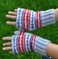 Ginx Craft: Fair Isle and Fingerless