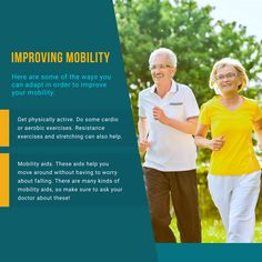 Improving Mobility  #Improving #ThisGenerationCares Mobility Aids, Resistance Workout, Aerobics, No Worries, Cardio, Improve Yourself, Exercise, Endurance Workout, Ejercicio