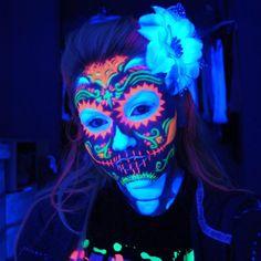 neon light paint | Inspiração: Neon