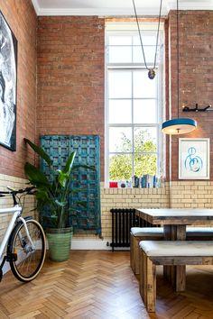 Un loft couleur briques - PLANETE DECO a homes world