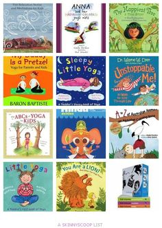 Best Kids Yoga Books by Giselle