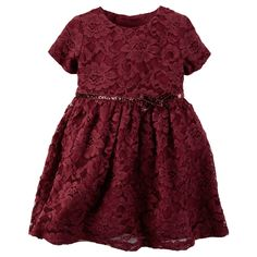 Lace Dress | Carters.com - matching holiday dresses