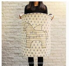 Pegasus Waterproof Clothes Laundry Basket Storage Hamper - Home Organization - Tac City Goods Co - 3  Link in the bio