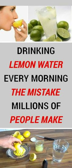 In Case You Missed: Drink Lemon Water Every Day, But Don't Make The Same Mistake As Millions!
