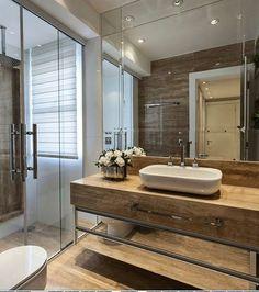 Banheiro lindo!