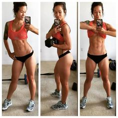 Fitness and trimming for real! This girl has a great program, lifting weights is essential!!::