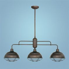 Millennium Lighting 5313 3 Light Neo-Industrial Island Light