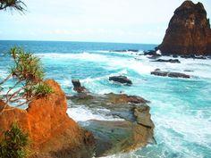 Foto Pantai Papuma Jember