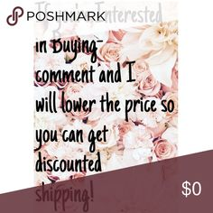 xoxo Rachel ❤❤❤❤ COMMENT if you're ready to buy something and I will lower the price (a dollar or so)  So you can get DISCOUNTED SHIPPING!!!! Other