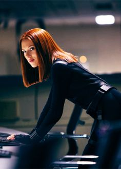 Black Widow in Captain America: The Winter Soldier