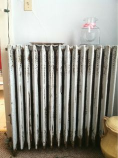 Turn your radiator into a humidifier. Great for singers.