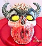Homemade Demon Halloween Cake... This website is the Pinterest of halloween cakes