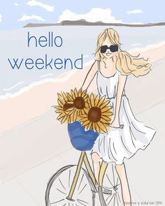 The Heather Stillufsen Collection from Rose Hill Designs Happy Week End, Happy Friday, Rose Hill Designs, Notting Hill Quotes, Hello Weekend, Hello Saturday, Weekend Days, Bon Weekend, Hello Summer