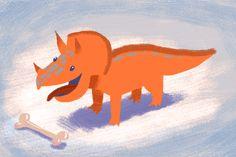 Prehistoric fetch!