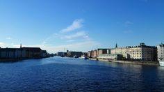 Lumière de janvier sur la Baltique, à Copenhague.