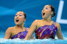 Synchronized Swimming Faces Are Terrifyingly Hilarious - BuzzFeed Mobile