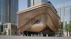 Algunos dicen que construcciones como el Fosun Foundation son una propuesta creativa para el centro financiero de Shanghái; otros consideran que la edificación satura el paisaje.