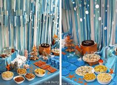 ocean theme birthday party   For more inspiration, follow me on Pinterest , Twitter and Facebook ...