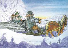 . Baumgarten, Pretty Pictures, Bellisima, Daydream, Elves, Gnomes, Sweden, Illustrators, Woodland