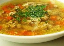 Kuřecí polévka s knedlíčky Cheeseburger Chowder, Thai Red Curry, Soup, Ethnic Recipes, Soups