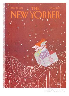 The New Yorker Cover - May 31, 1982 Regular Giclee Print di William Steig su AllPosters.it