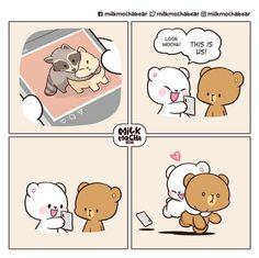 Cute Cartoon Images, Cute Cartoon Wallpapers, Cartoon Gifs, Calin Gif, Hug Gif, Cute Bear Drawings, Cute Sketches, Cute Kawaii Animals, Cute Love Gif