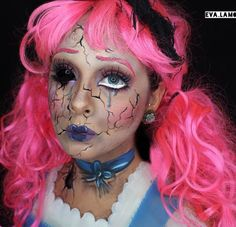 Halloween makeup by eva.lamorte on Instagram