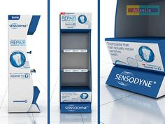 GSK Sensodyne POSM on Behance