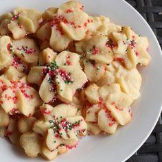 {recipe} Holiday Spritz Cookies