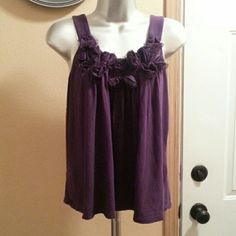 Purple Express top Cute Express loose fitting top Express Tops
