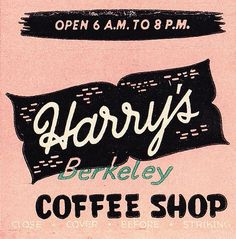 Harry's Coffee Shop 2 by hmdavid, via Flickr
